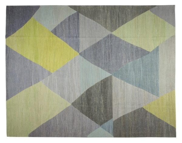 grey green kitchen kilim
