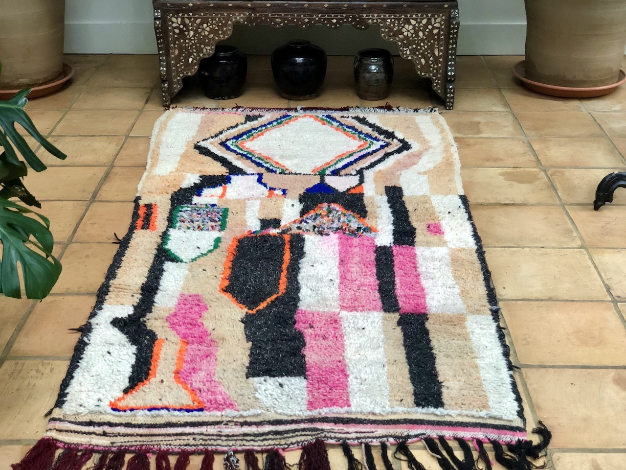 Colours Colourful Moroccan Rug Runner