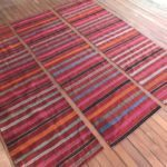 red striped kilims runners