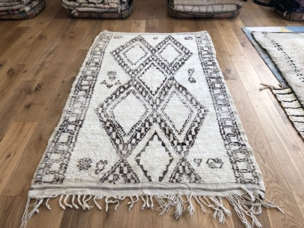 geometric medium sized berber rug