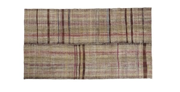 Turkish caput kilim brown pink