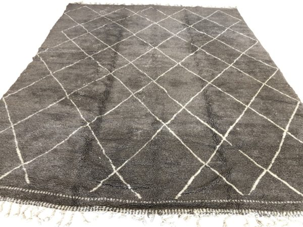 large area rug grey carpet moroccan handmade rug