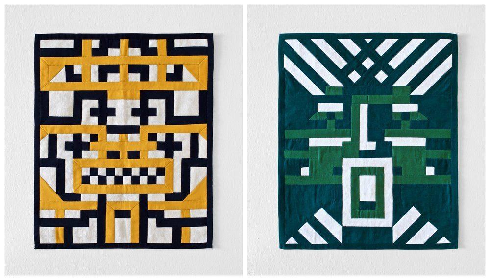 Damien Poulain's designs were based on ceremonial masks