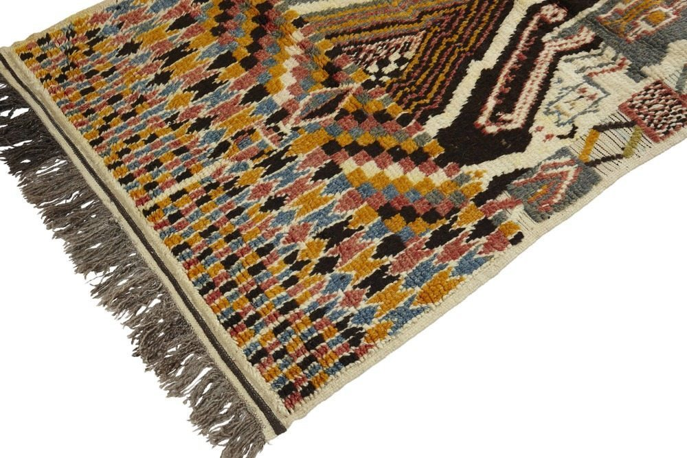 Moroccan Azilal Pile Rug