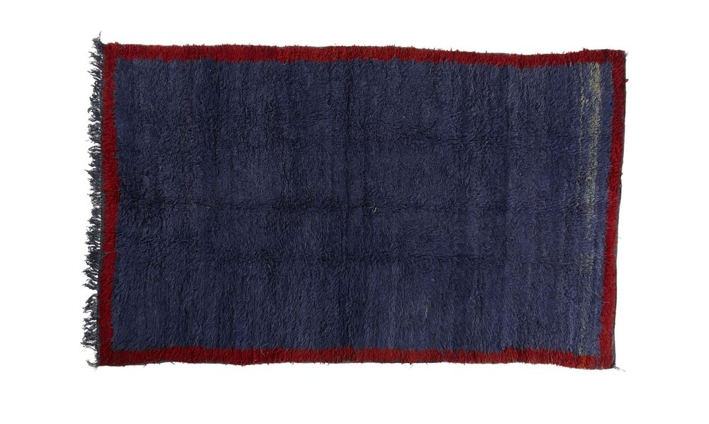 Vintage Moroccan Beni M'guild Pile Rug