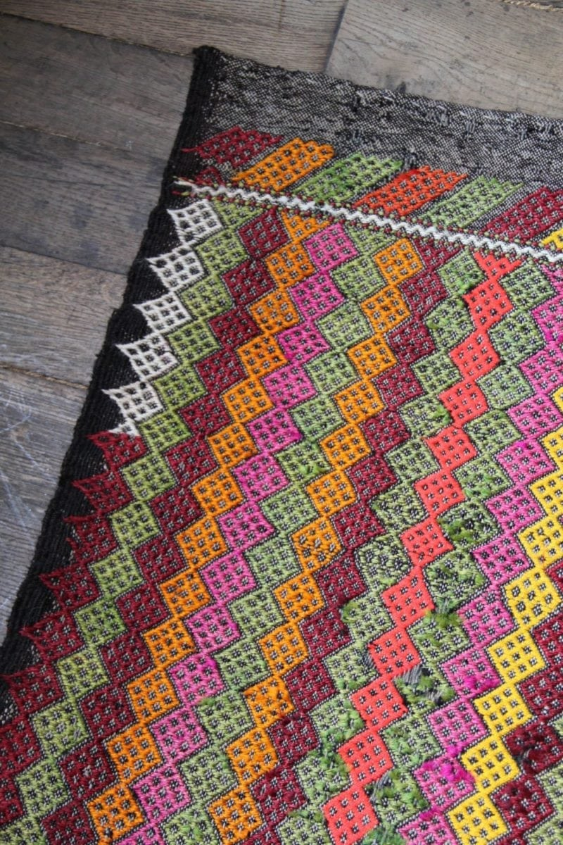 Striped Zig Zag Small Turkish Mat Emily S House London
