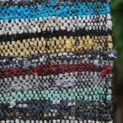 Vintage Striped Turkish Caput Kilim Runner - Multicolour Handwoven Striped Rug